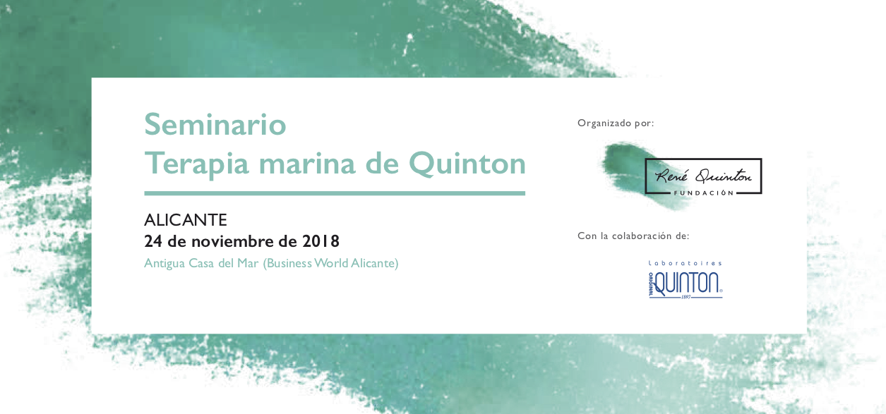Fundación_Rene_Quinton_Seminario_Alicante