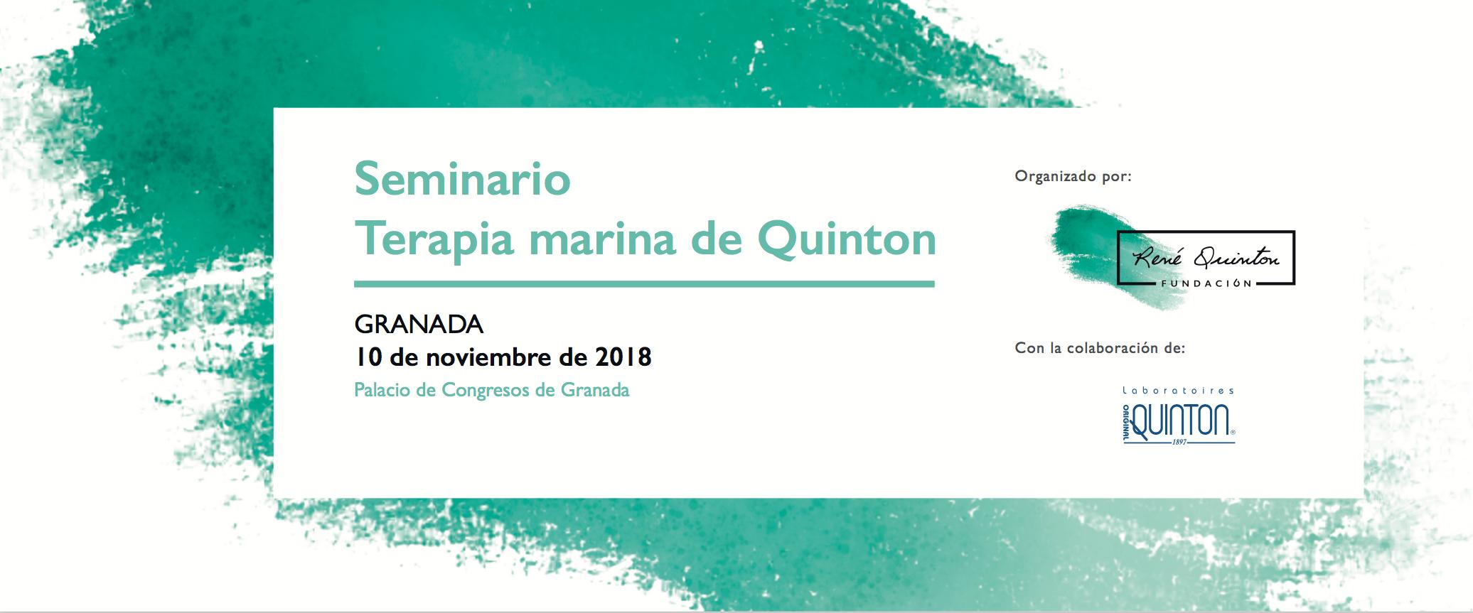 Seminario de Terapia Marina en Granada