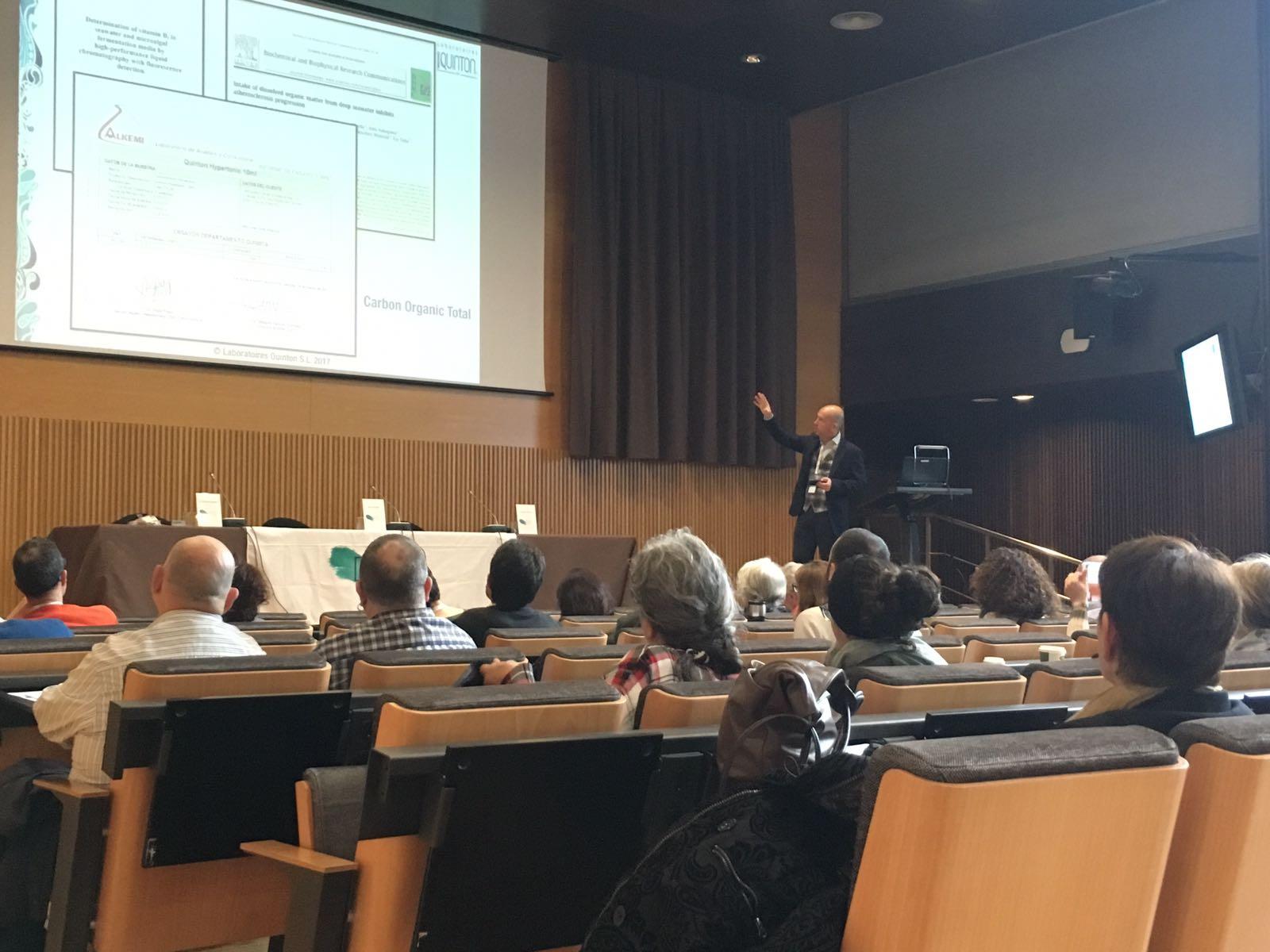 Seminario de Terapia Marina en Barcelona
